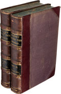 Books:Travels & Voyages, Sir George Simpson. Narrative of a Journey Round theWorld... London, 1847.... (Total: 2 Items)