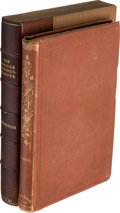 Books:First Editions, Edward Eggleston. The Hoosier School-Master. A Novel. NewYork: Orange Judd and Company, [1871]....
