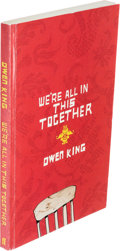Books:Horror & Supernatural, [Stephen King]. Owen King. INSCRIBED. We're All in ThisTogether: A Novella and Stories. Faber andFaber...