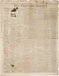 Miscellaneous:Newspaper, [Southern Secession]. Newspaper: The Charleston Mercury....