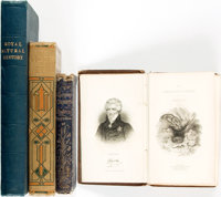 [Natural History]. Group of Four Books on Natural History. Various publishers, 1834 - 1910