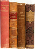 Books:Literature Pre-1900, [Literature]. Group of Four. Various publishers, 1861 - 1897. . ...(Total: 4 Items)