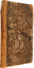 Miscellaneous:Newspaper, Bound Volume I of The Liberator, Published by William LloydGarrison and Isaac Knapp. ...