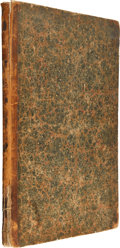 Miscellaneous:Newspaper, Bound Volume V of The Liberator, Published by William LloydGarrison and Isaac Knapp and Edited by William Lloyd G...