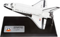 Explorers:Space Exploration, Space Shuttle Columbia (STS-1) Danbury Mint Model, withCOA....