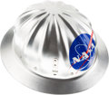 "Explorers:Space Exploration, NASA Metal Hard Hat, Stamped ""U.S. Government""...."