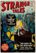 Silver Age (1956-1969):Horror, Strange Tales #69 (Marvel, 1959) Condition: VG/FN....