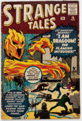 Silver Age (1956-1969):Horror, Strange Tales #76 (Marvel, 1960) Condition: GD/VG....