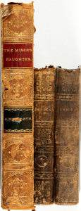 Books:Literature Pre-1900, [Literature]. Three Volumes of Nineteenth-Century Literature. . ...(Total: 3 Items)