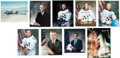 Autographs:Celebrities, NASA Shuttle Astronauts Collection of Eight Signed Photos with an STS-8 Flown Cover.... (Total: 8 Items)