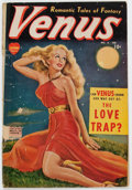 Golden Age (1938-1955):Romance, Venus #8 (Timely, 1950) Condition: FR....