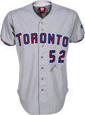Baseball Collectibles:Uniforms, 1998 Roy Halladay Game Worn Toronto Blue Jays Jersey with TeamLetter. ...