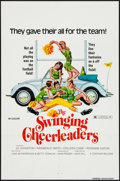 "Movie Posters:Sexploitation, The Swinging Cheerleaders & Other Lot (Centaur, 1974). OneSheets (2) (27"" X 41"") and Photos (2) (8"" X 10""). Sexploitation....(Total: 4 Items)"