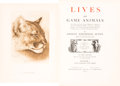Books:Natural History Books & Prints, Ernest Thompson Seton. Lives of Game Animals. An Account ofthose Land Animals in America, north of the Mexican Border, ...(Total: 4 Items)