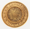 "Luxury Accessories:Accessories, Chanel Gold Sunburst Medallion Brooch. Excellent Condition. 1.5""Width x 1.5"" Length. ..."