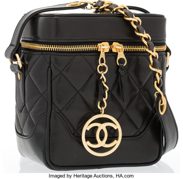 161ad471917e Very; Luxury Accessories:Bags, Chanel Black Quilted Lambskin Leather Camera  Bag with GoldHardware.