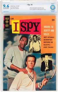 I Spy #2 (Gold Key, 1967) CBCS NM+ 9.6 Off-white to white pages