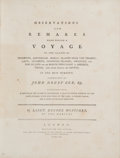 Books:Travels & Voyages, George Mortimer. Observations and Remarks Made During a Voyage to the Islands of Teneriffe, Amsterdam, Maria's Islands N...