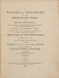 Books:Travels & Voyages, George Vancouver. [John Vancouver, editor]. A Voyage of Discovery to the North Pacific Ocean, and Round the World; in wh... (Total: 4 Items)