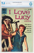Silver Age (1956-1969):Humor, I Love Lucy #27 (Dell, 1960) CBCS NM+ 9.6 Off-white to white pages....