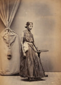 Photographs:Historical Photographs, Unknown (19th Century). Album of Views and People of the Far East, 1870s. Album includes 176 albumen prints mounted one ...