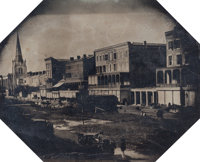 Attributed to Felix Moissenet (American, b. ca. 1814) Canal Street, New Orleans, circa 1857-59 Mammo