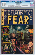 Golden Age (1938-1955):Horror, Haunt of Fear #12 (EC, 1952) CGC VF+ 8.5 Off-white pages....