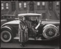 Photographs:Gelatin Silver, James Van Der Zee (American, 1886-1983). Couple, Harlem,NYC, 1932. Gelatin silver contact print, printed later. 8 x 10...