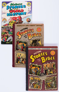 Picture Stories from the Bible Group of 5 (EC, 1946) Condition: Average VG+.... (Total: 5 Comic Books)