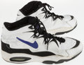 Basketball Collectibles:Others, 1995 Brian Grant Game Worn, Signed Sacramento Kings Shoes....