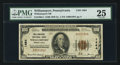 National Bank Notes:Pennsylvania, Williamsport, PA - $100 1929 Ty. 1 The Williamsport NB Ch. # 1464. ...