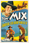 "Movie Posters:Western, The Rider of Death Valley (Universal, 1932). One Sheet (27"" X41"").. ..."