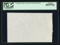 Fractional Currency:First Issue, CSA Watermarked Paper - Single Block. PCGS Gem New 66PPQ.. ...