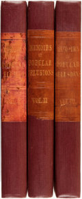 Books:Biography & Memoir, Charles Mackay. Memoirs of Extraordinary Popular Delusions.London: Richard Bentley, 1841.... (Total: 3 Items)