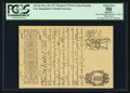 Colonial Notes:New Hampshire, New Hampshire May 20, 1717 Redated 1729 £4 Cohen Reprint PCGS Apparent About New 50.. ...