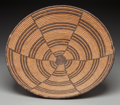 American Indian Art:Baskets, An Apache Coiled Bowl . c. 1900...