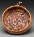 American Indian Art:Pottery, A Hopi Polychrome Bowl. Koo-Loo Nampeyo...
