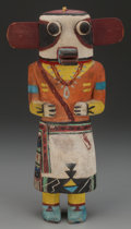 American Indian Art:Kachina Dolls, A Hopi Cottonwood Kachina Doll. Wakas, or Cow Kachina. c. 1940...