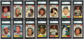 Baseball Cards:Sets, 1961 Topps Baseball High Grade Complete Set (587) With Over 100Graded Cards! ...