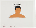 Boxing Collectibles:Autographs, 1970's Muhammad Ali Signed Animation Cel from I Am the Greatest:The Adventures of Muhammad Ali. ...