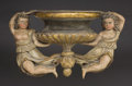 Miscellaneous, A Pair of Venetian Carved and Polychromed Wood Figural Brackets. 19th Century. 18 x 27 inches (45.7 x 68.6 cm). ... (Total: 2 Items)