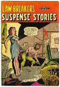 Golden Age (1938-1955):Horror, Lawbreakers Suspense Stories #11 (Charlton, 1953) Condition: VG....