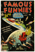 Golden Age (1938-1955):Science Fiction, Famous Funnies #212 (Eastern Color, 1954) Condition: ApparentFN+....