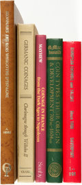 Books:Non-fiction, [Numismatics]. Group of Five Books about European Coins. Various publishers and dates.... (Total: 5 Items)