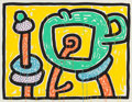 Post-War & Contemporary:Contemporary, Keith Haring (American, 1958-1990). Flowers III, 1990.Screenprint in colors. 39-1/4 x 51 inches (99.8 x 129.5 cm). Ed....