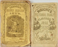 Books:Americana & American History, [Almanacs]. Pair of Nineteenth-Century Almanacs. VariousPublishers, and dates. ...