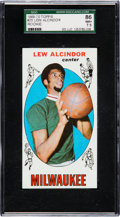 Basketball Cards:Singles (Pre-1970), 1969 Topps Lew Alcindor #25 SGC 86 NM+ 7.5....