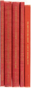 Books:Non-fiction, John Parker. The James Ford Bell Collection. Minneapolis: The University of Minnesota Press, [various dates].... (Total: 5 Items)