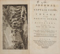 Books:Travels & Voyages, Captain James Cook. [John Rickman]. Journal of Captain Cook'sLast Voyage to the Pacific Ocean, on Discovery; Performed ...