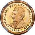 Commemorative Gold, 1904 G$1 Lewis and Clark MS65 ★ NGC....